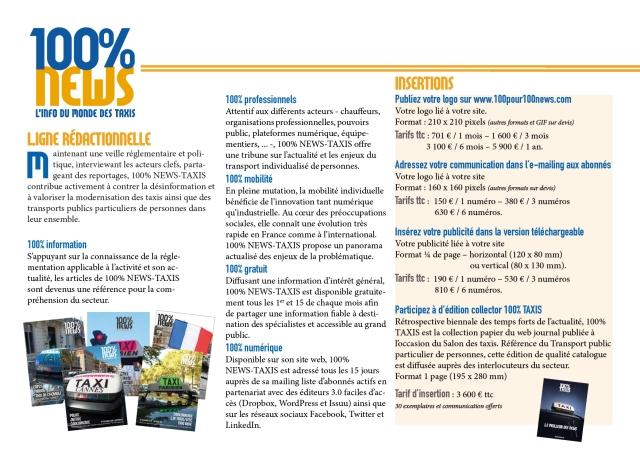 100% NEWS TAXIS - Présentation P. 2-150dpi