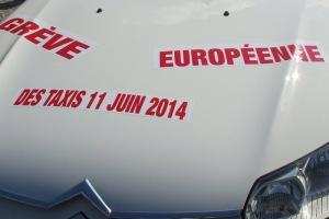 Grève européenne taxi