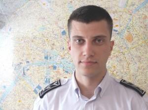 Commissaire Pierre-Etienne Hourlier, chef de la division de la prévention et de la répression de la délinquance routière de la préfecture de police de Paris.