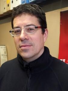 Karim Asnoun, secrétaire CGT-Taxis