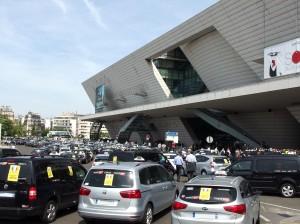Malgré les débordements déplorés lors de la manifestation du 25 juin 2015, les taxis avaient obtenu un renforcement des forces de police pour le contrôle de la voie publique.