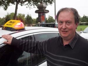 François Brandy, président de l'Union départementale des artisans du taxi et de l'interrégion Poitou-Charentes et Aquitaine au sein de la FNAT