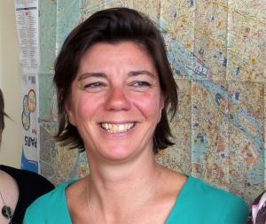 Catherine Kergonou, adjointe du chef du bureau des Taxis / Prefecture de Police de Paris.