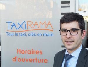 Vincent Poirot, DGA Taxirama, responsable des services artisans G7 Taxi Service.