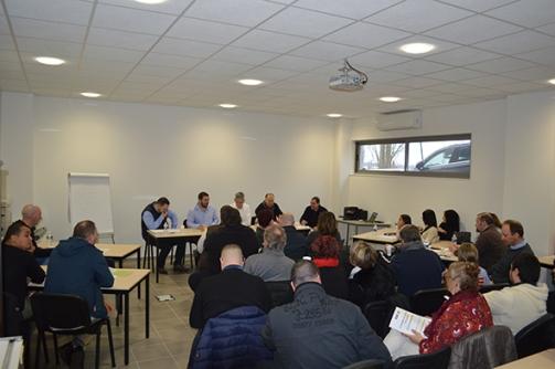 Au programme : réunion en AG, présentation du nouveau véhicule relais et convivialité !