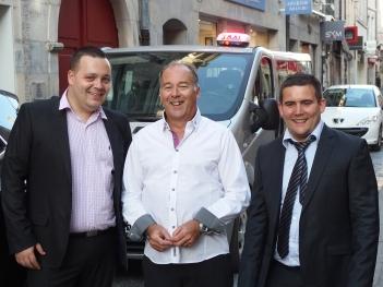 De gauche à droite : Anthony Bézard (vice-président), Sylvain Estavoyer (trésorier) et Johannes Ussel (président) de la FDT25.