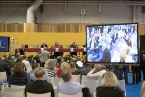 Rassemblant des acteurs clefs du secteurs, des conférences ont rythmé le Salon.